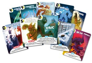 Sample Power Cards
