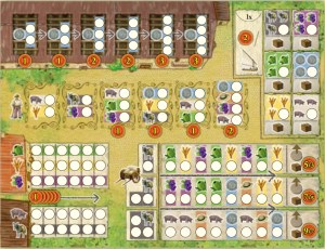 La Granja: No Siesta tally sheet