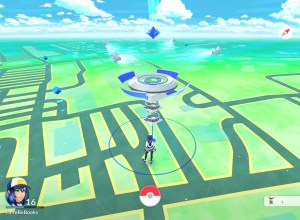 Pokémon Go in Landscape Mode