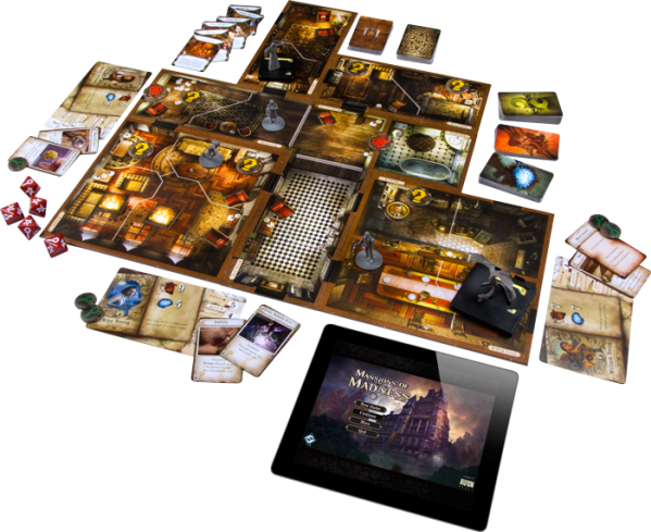 Mansions of Madness 2nd Ed setup
