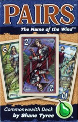 Pairs - The Name of the Wind Commonwealth Deck