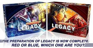 Pandemic Legacy box color/style options