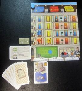 Grand Austria Hotel Player Board Setup