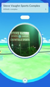 PokeStop - Open and ready to activate