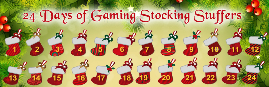 24 Days of Gaming Stocking Stuffers