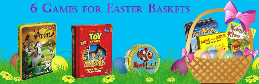6 Games For Easter Baskets