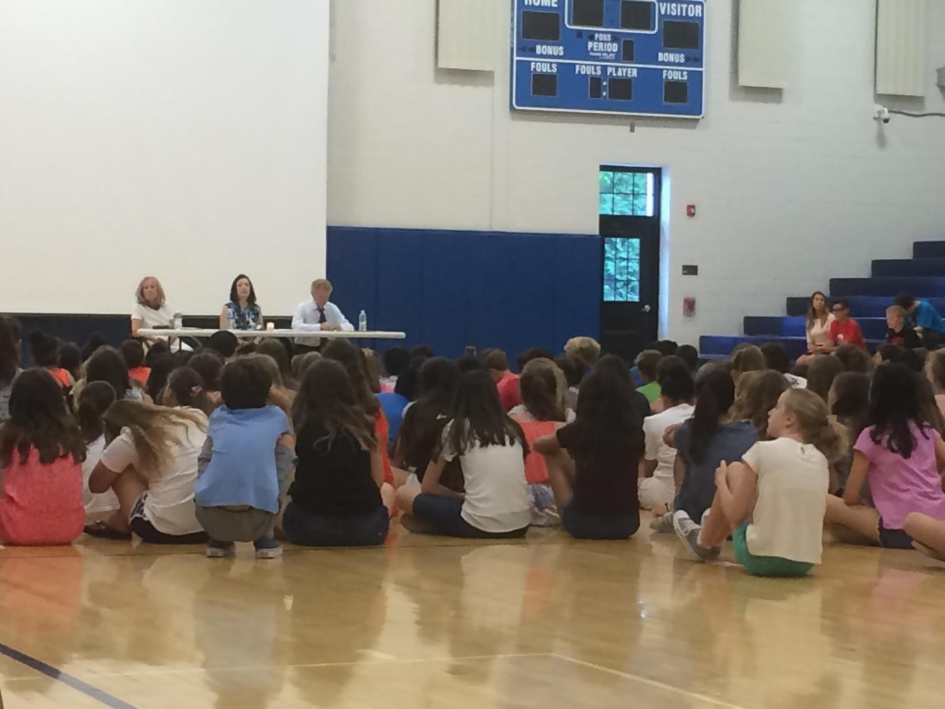 Holocaust Survivors Visit Ridgewood Middle School The