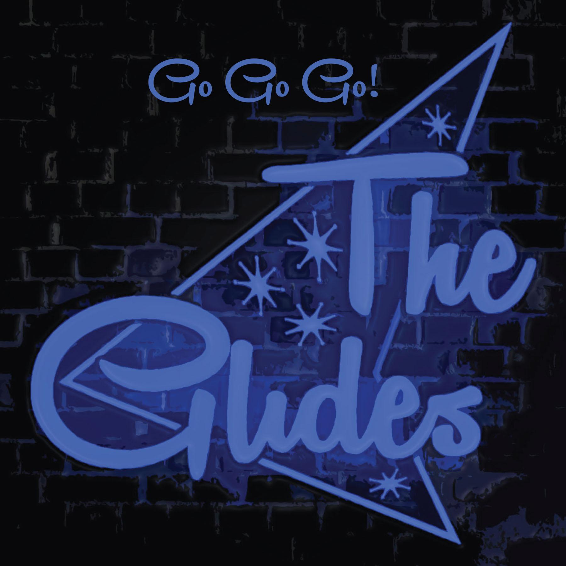 The Glides Go Go Go Logo
