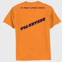 St Philip Volunteer Shirt - back
