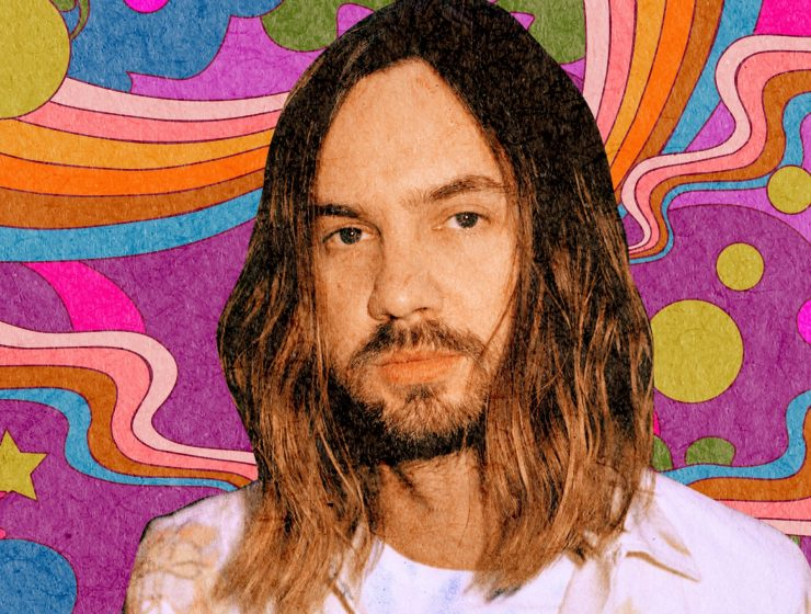 Tame Impala Kevin Parker Designed for Cosmic Magazine by Golden Daze Illustration The Glitter and Gold