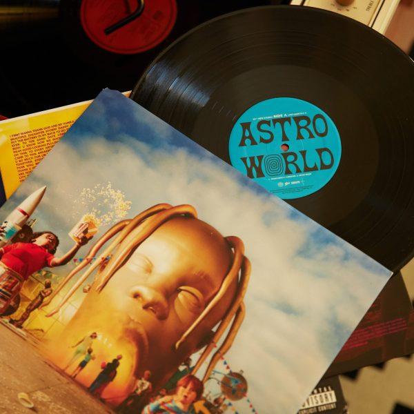 Travis Scott Astroworld Vinyl alternate cover The Glitter and Gold
