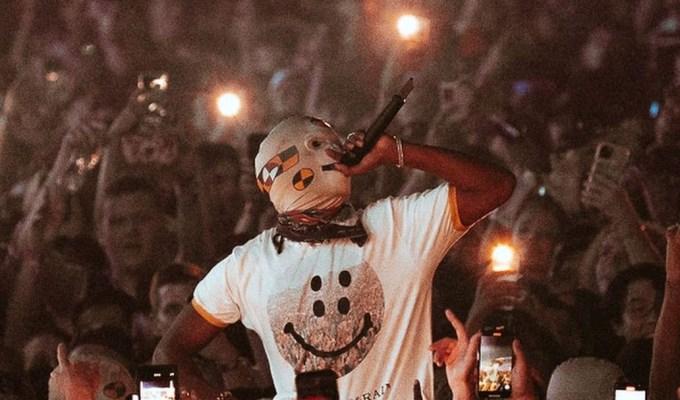Asap Rocky Rolling Loud Promotional Image 2021 Awge Mask