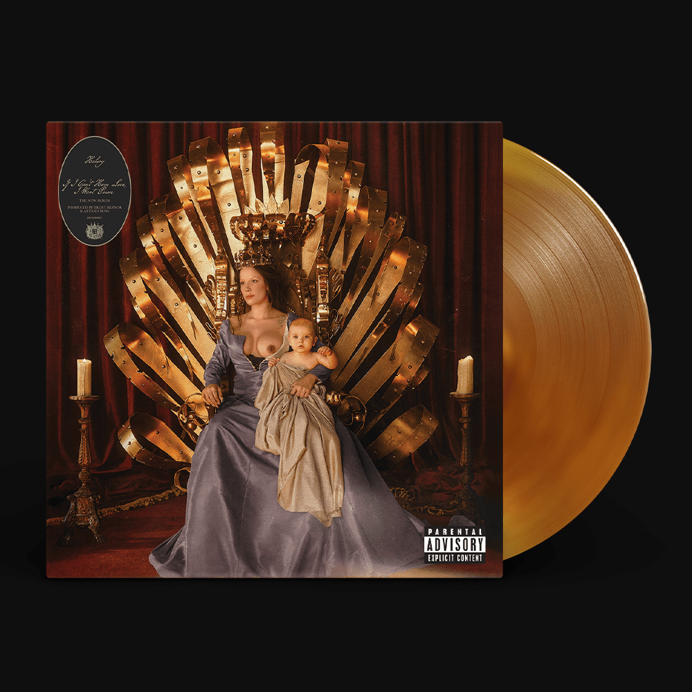 Halsey If I Can't Have Love, I Want Power vinyl orange cover