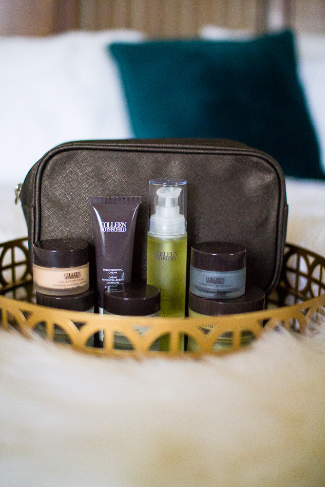 Colleen Rothschild: The Ultimate Skincare Routine by Tennessee style blogger The Glitter Gospel