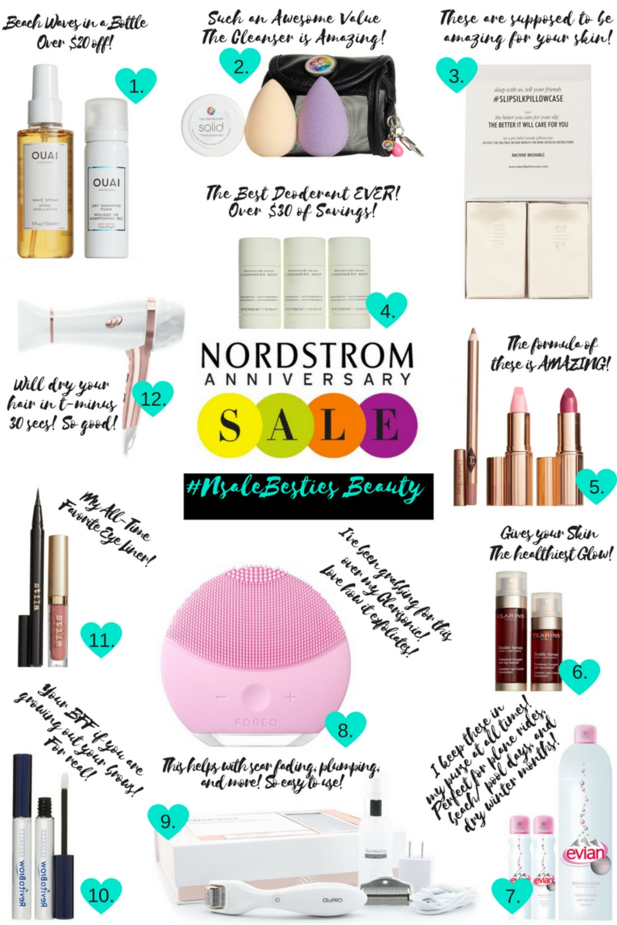 #NSALE Besties: The Best of The Nordstrom Anniversary Sale Beauty Edit