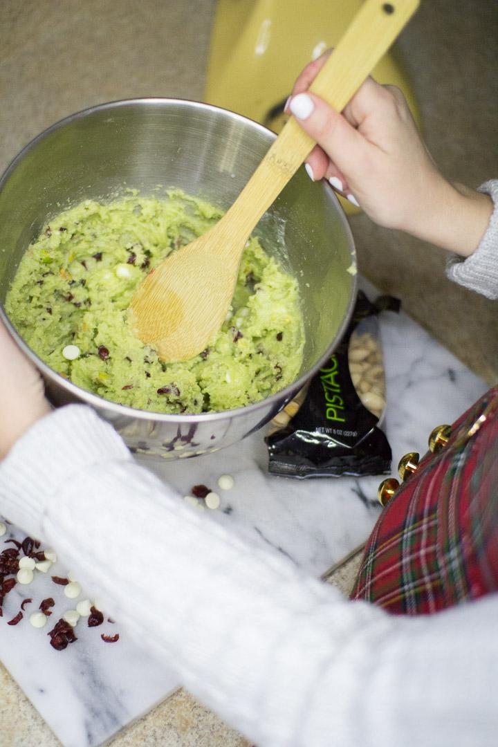 Pistachio Cranberry Jello Cookies, holiday cookie recipe, holiday treats, christmas cookies, recipe