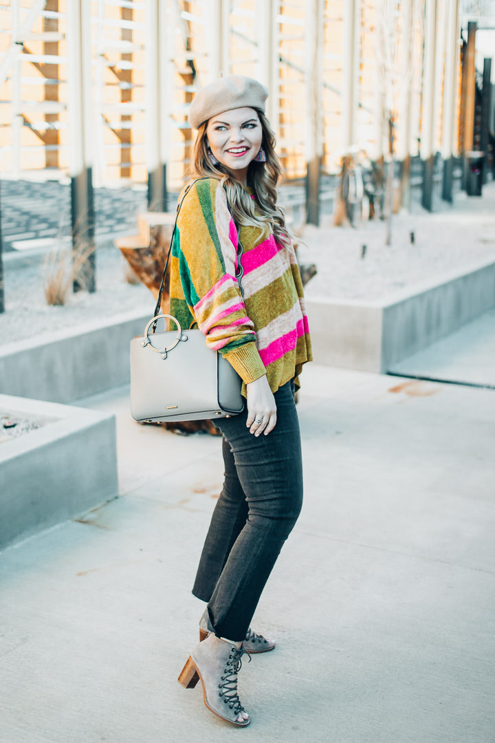 How to Add Some Color to Winter Outfits