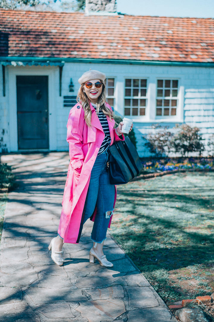 A New Take on the Classic Trench + Amazing Giveaway!