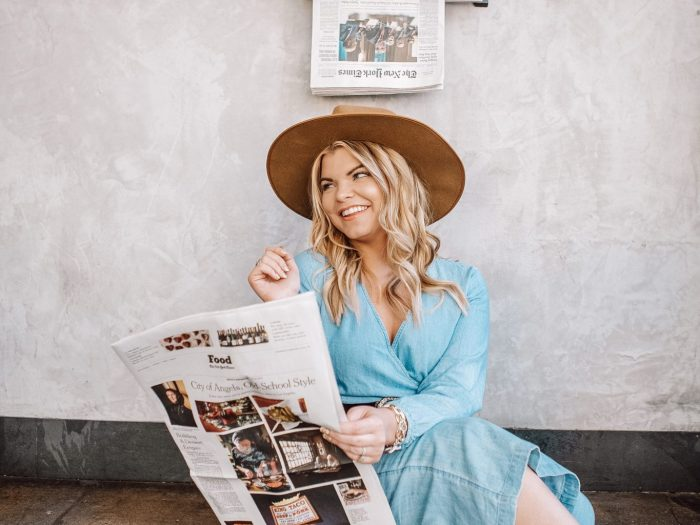 Popular Tennessee Life + Style Blogger, The Glitter Gospel shares her new blog design and tips for trying new things. Blog design, Tennessee Blogger, Nashville blogger, Cafe Roze, East Nashville.