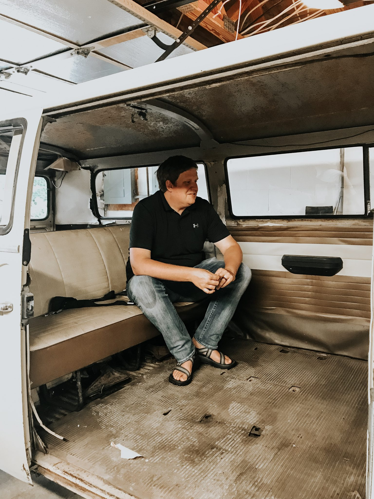 Our 1970 Volkswagen Bus Caught on Fire + what we are doing next. | The Glitter Gospel | Tennessee Blogger | VW Bus | Lola the Love Bus