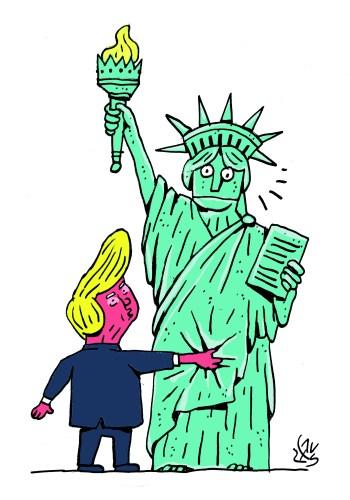 trump-and-statue