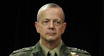Former Afghanistan Commander Gen. John Allen Abruptly Quits: Could It Have Something to Do With Petraeus Scandal?