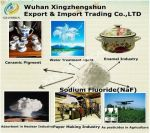 PROOF: Chinese industrial fluoride suppliers openly list sodium fluoride as 'insecticide' and 'adhesive preservative' in addition to water treatment chemical