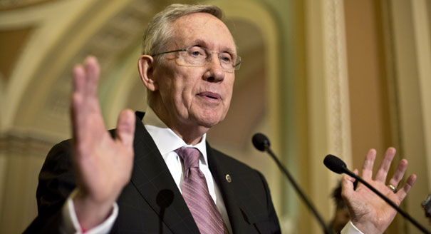 Reid appears to have enough support among the Democratic Caucus to go forward. AP Photo