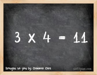 "The New Common Core Obama Math Standard: ""3 x 4 = 11″"