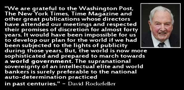 David Rockefeller Quote 2