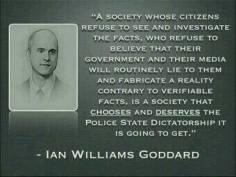 Ian Williams Goddard Quote
