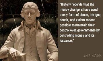 James-Madison- money changers