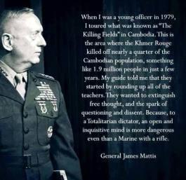 James Mattis Quote