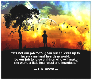 LR Knost Quote