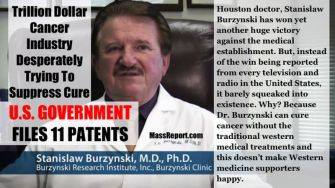 Burzynski Cancer Cure Finally Released By The Feds