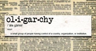 History Lesson: America Is the Same 'Ol Oligarchy It Was over a Century Ago