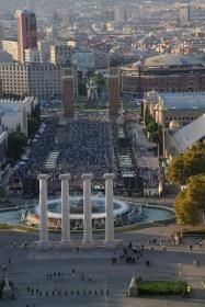 Plaza Espanya - concert