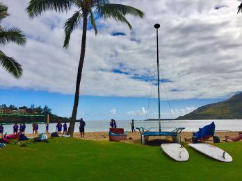 Duke's Kauai, volleyball game