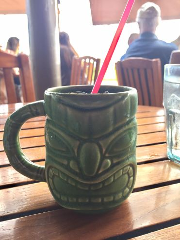 Cocktail at Duke's Kauai