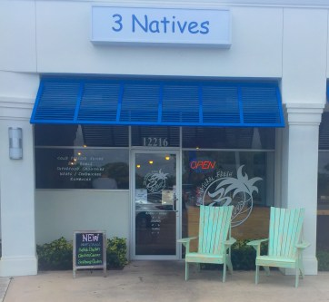 The original 3 Natives Juice Bar in Juno Beach