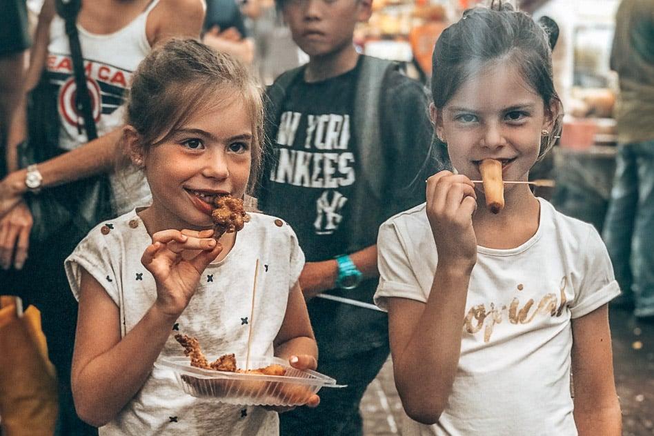 Street Food Kuala Lumpur with Kids Where Eat