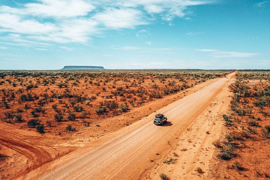 Mount Connor Roadtrip Outback Stuart Highway Australia