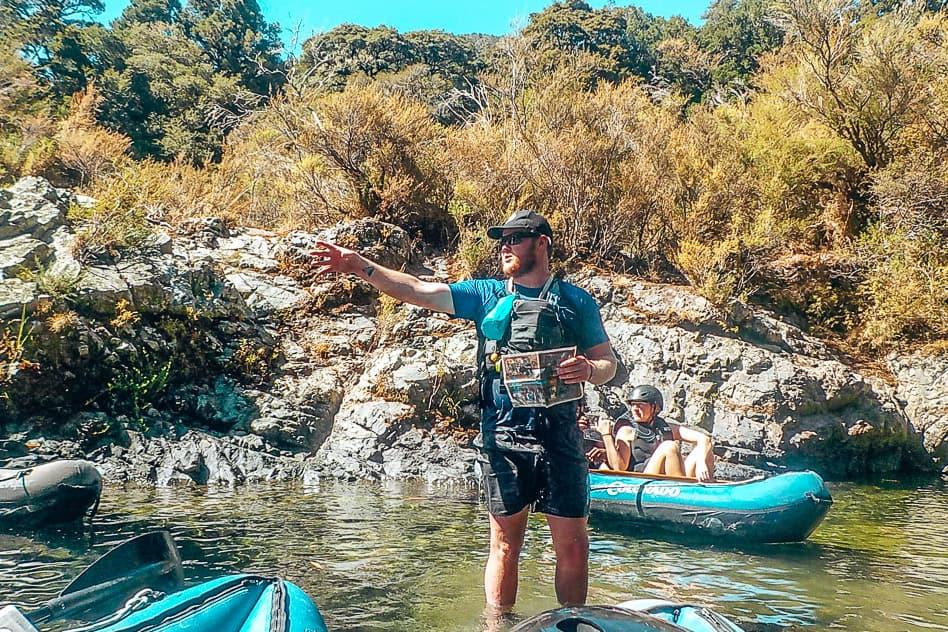 Hobbit Movie Kayak Pelorus River Eco Adventures