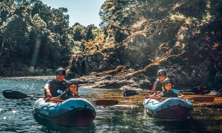 Kayaking down Middle-Earth with Pelorus Eco Adventures