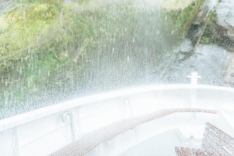Waterfalls Wet Cruise Milford Sound New Zealand