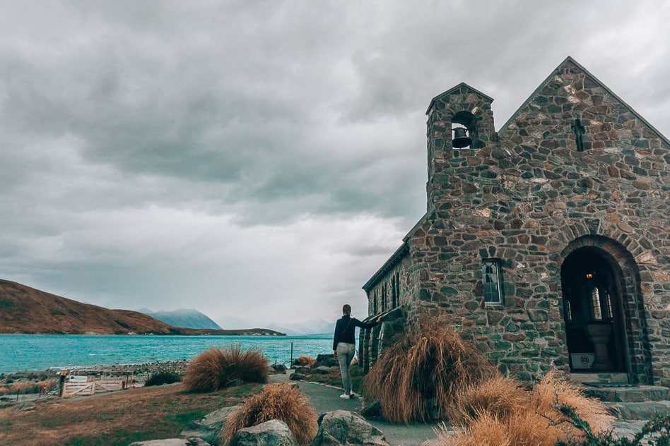 Church Good Sheppard Lake Tekapo Mount Cook New Zeeland