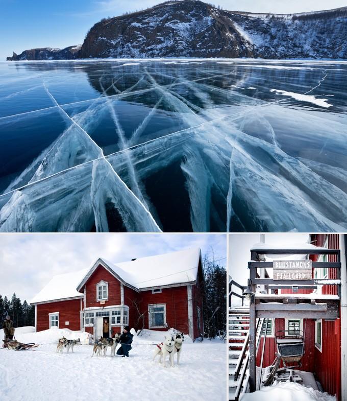 Laponie paysages activités