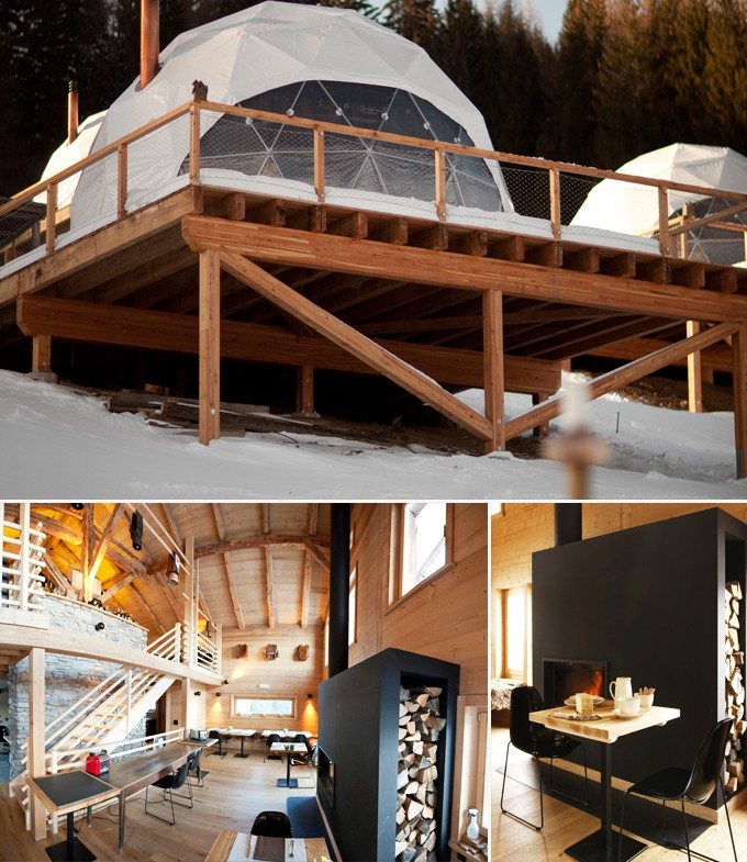 The whitepod hotel suisse