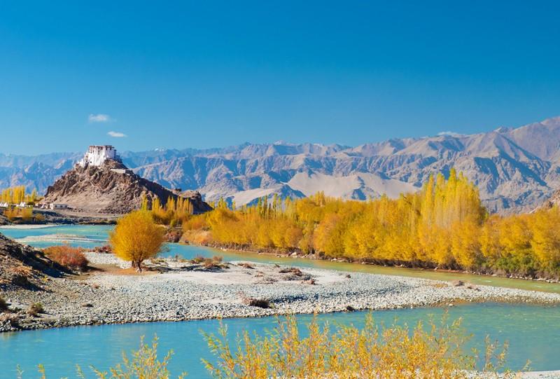 monastere d alchi inde himalya montagne