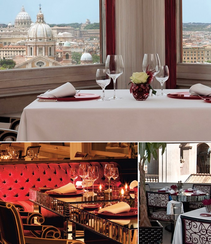 Imago rome italie restaurant